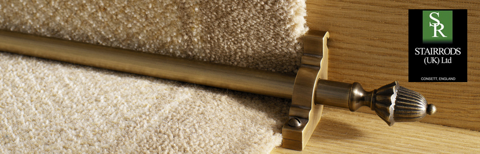 Crawley Carpet Warehouse Eastern Promise Stair Rods From Stair Rods (UK) Ltd