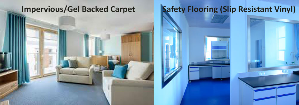 Gel Backed Carpet & Safety Flooring at Crawley Carpet Warehouse